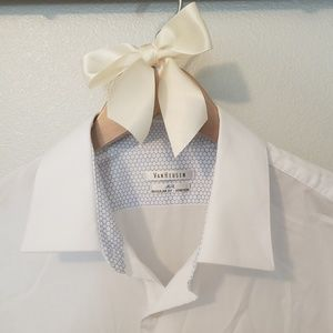 Van Heusen Air White Dress Shirt